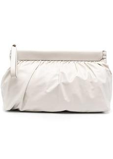 Isabel Marant Luz leather clutch bag
