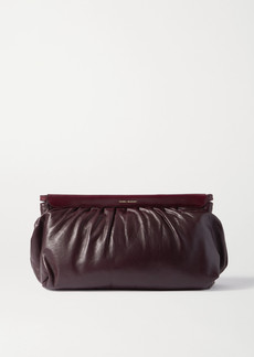 Isabel Marant Luz Studded Leather Clutch