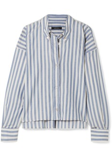 Isabel Marant Macao Oversized Striped Cotton-poplin Shirt