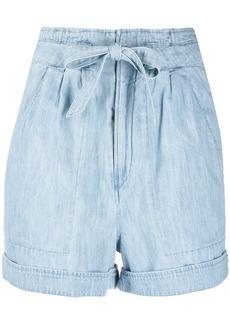Isabel Marant Marius tie-waist denim shorts