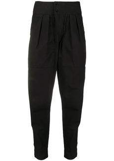 Isabel Marant Mariz tapered-leg cotton trousers
