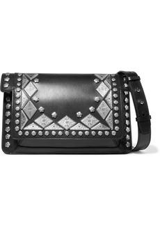 Isabel Marant Maskia Embellished Leather Shoulder Bag