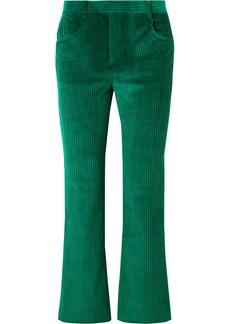 Isabel Marant Mereo Cotton-corduroy Straight-leg Pants
