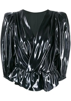 Isabel Marant metallic blouse