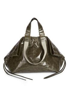 Isabel Marant Metallic Leather Shopper