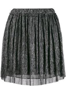 Isabel Marant metallic pleated mini skirt