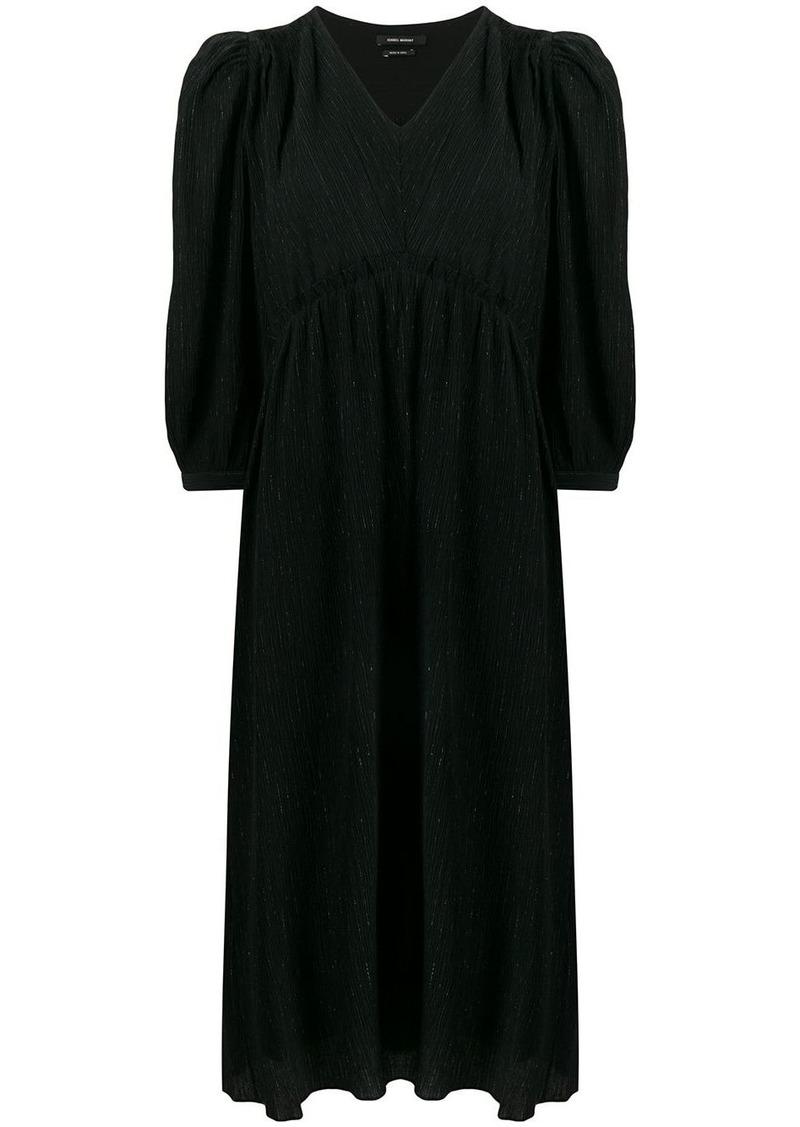 Isabel Marant metallic threads midi dress