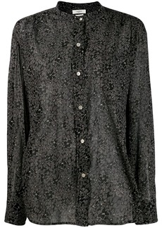 Isabel Marant Mexika collarless shirt