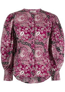 Isabel Marant Mexika floral print shirt
