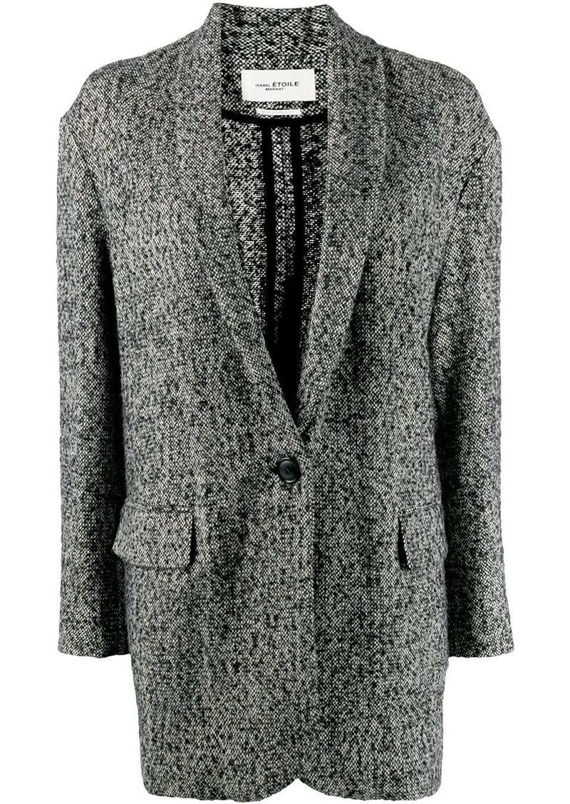 Isabel Marant oversized textured blazer