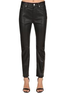 Isabel Marant Minlow Boyfriend Fit Leather Jeans