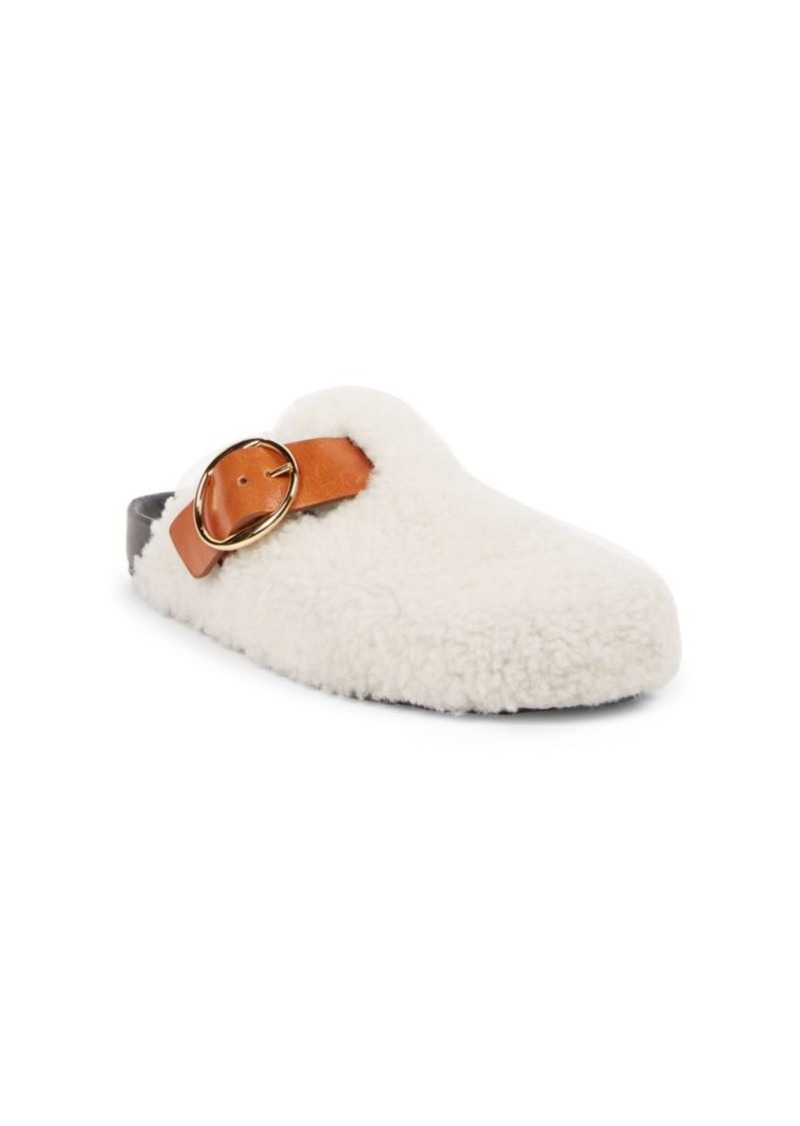 dd7c377a6d Isabel Marant Mirvin Shearling Studded Slippers | Shoes