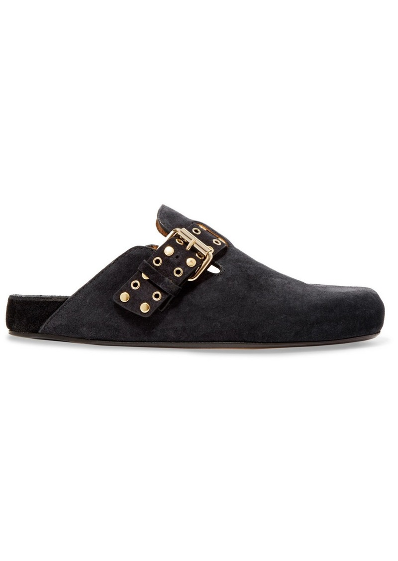 Isabel Marant Mirvin Studded Suede Mules