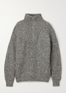 Isabel Marant Myclan Ribbed Cotton-blend Sweater