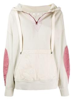 Isabel Marant Nansyl contrasting panel hoodie