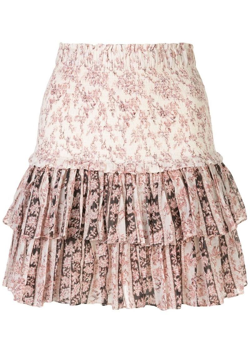 Isabel Marant Naomi smocked mini skirt