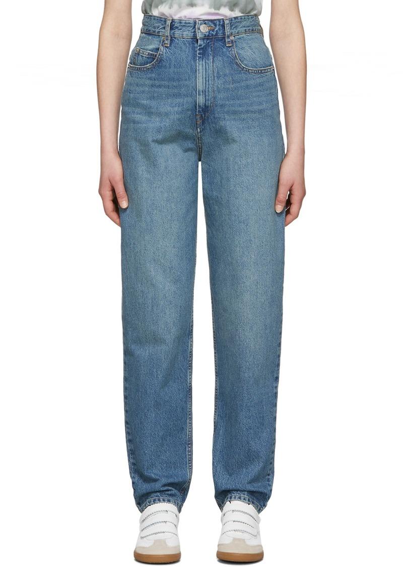 Isabel Marant Navy Corsyj Jeans