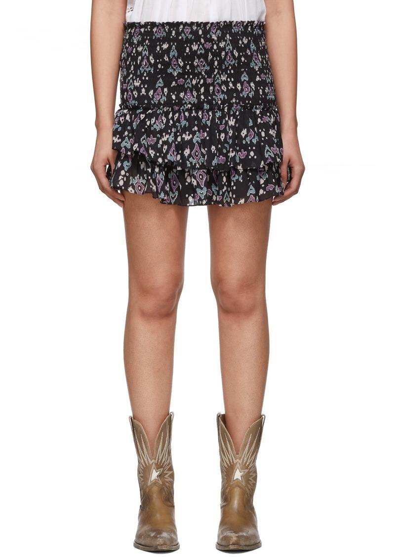 Isabel Marant Navy Frinley Shorts