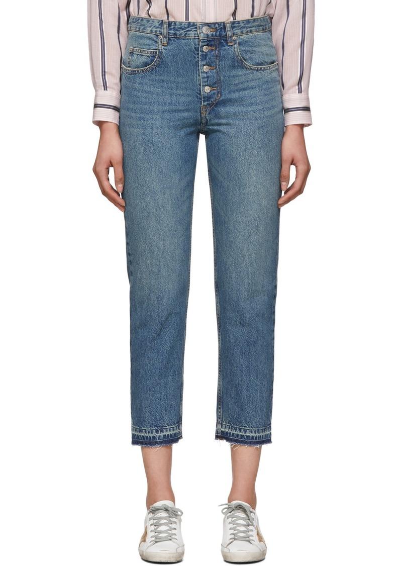 Isabel Marant Navy Garance Jeans