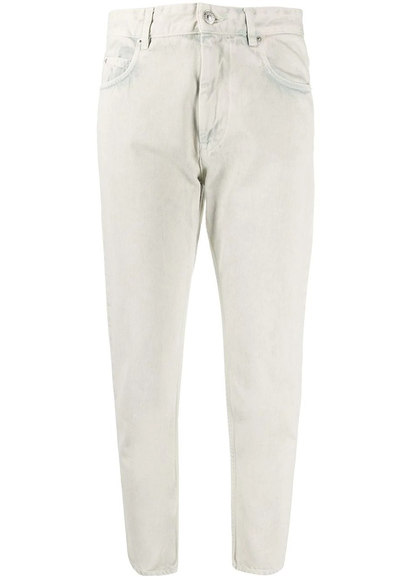 Isabel Marant Neaj cropped jeans