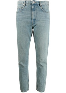 Isabel Marant Neaj high-rise cropped jeans