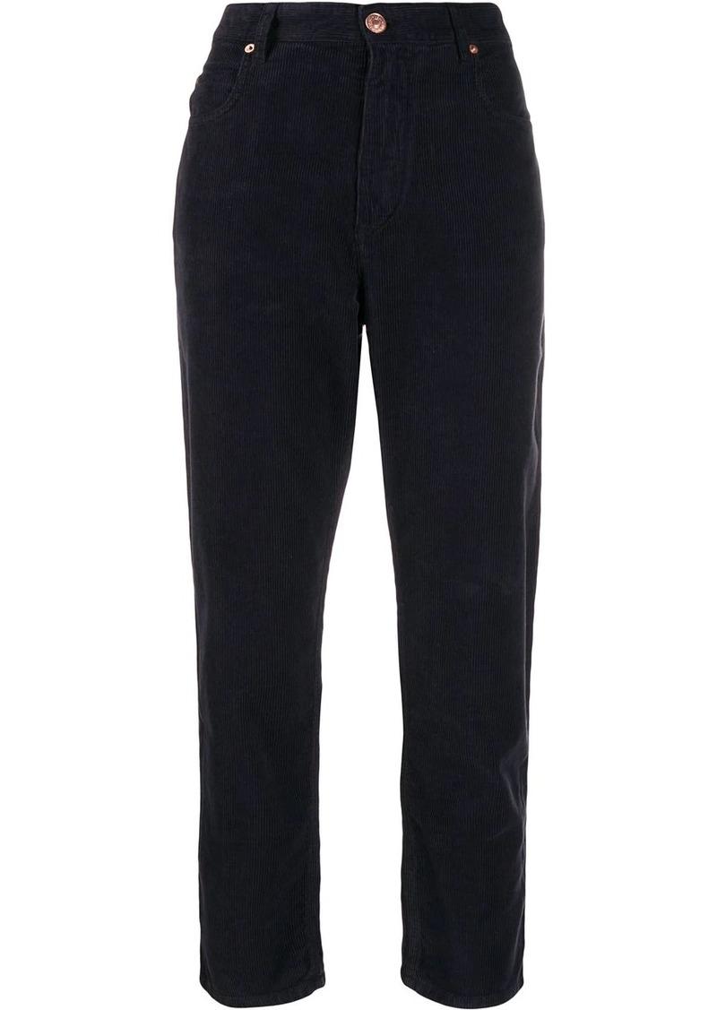 Isabel Marant Neav corduroy boyfriend trousers