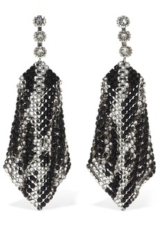 Isabel Marant New Nile Two Tone Crystal Earrings
