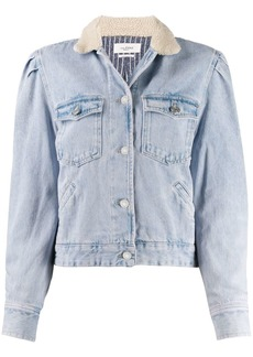 Isabel Marant Nolinea contrasting-collar denim jacket