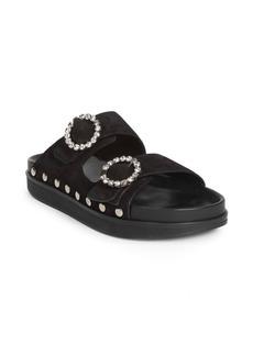 Isabel Marant Noodi Crystal Buckle Sandals
