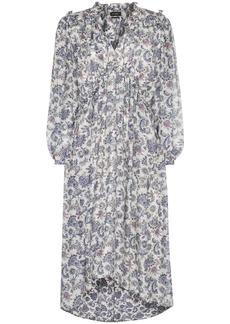 Isabel Marant Norja paisley print midi dress