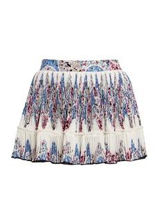 Isabel Marant Novoli Printed Pleated Skirt