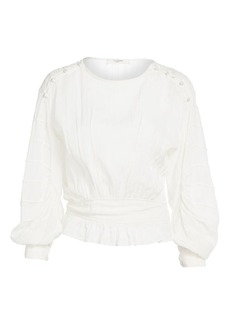 Isabel Marant Oak Cropped Blouse