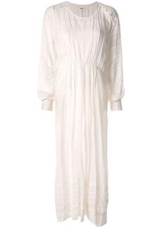 Isabel Marant Oceane pleated maxi dress