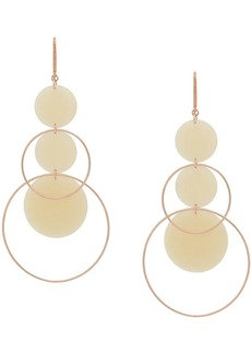 Isabel Marant orb dorp earrings