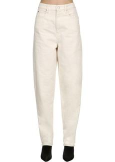 Isabel Marant Forsy Overboyfriend Cotton Denim Jeans