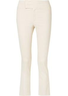 Isabel Marant Ovida Cropped Cotton-blend Skinny Pants