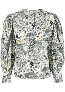 Isabel Marant paisley print shirt