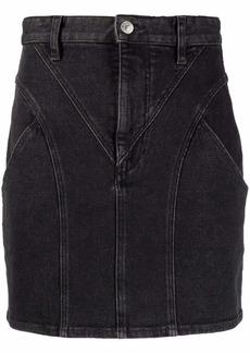 Isabel Marant panelled denim mini skirt
