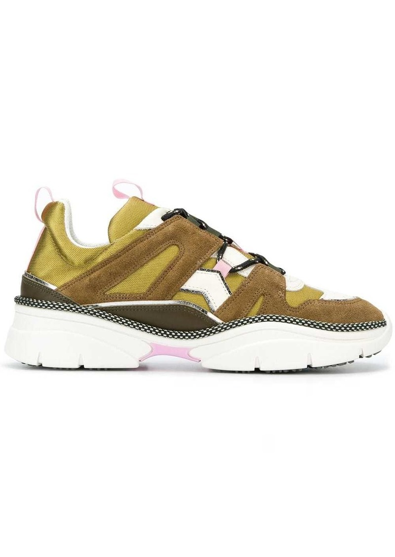 Isabel Marant panelled sneakers