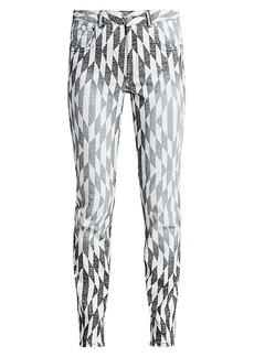 Isabel Marant Paro Print Skinny Jeans