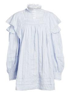 Isabel Marant Patsy Ruffle Lace Baby Doll Dress