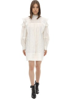 Isabel Marant Patsy Ruffled Cotton Dress