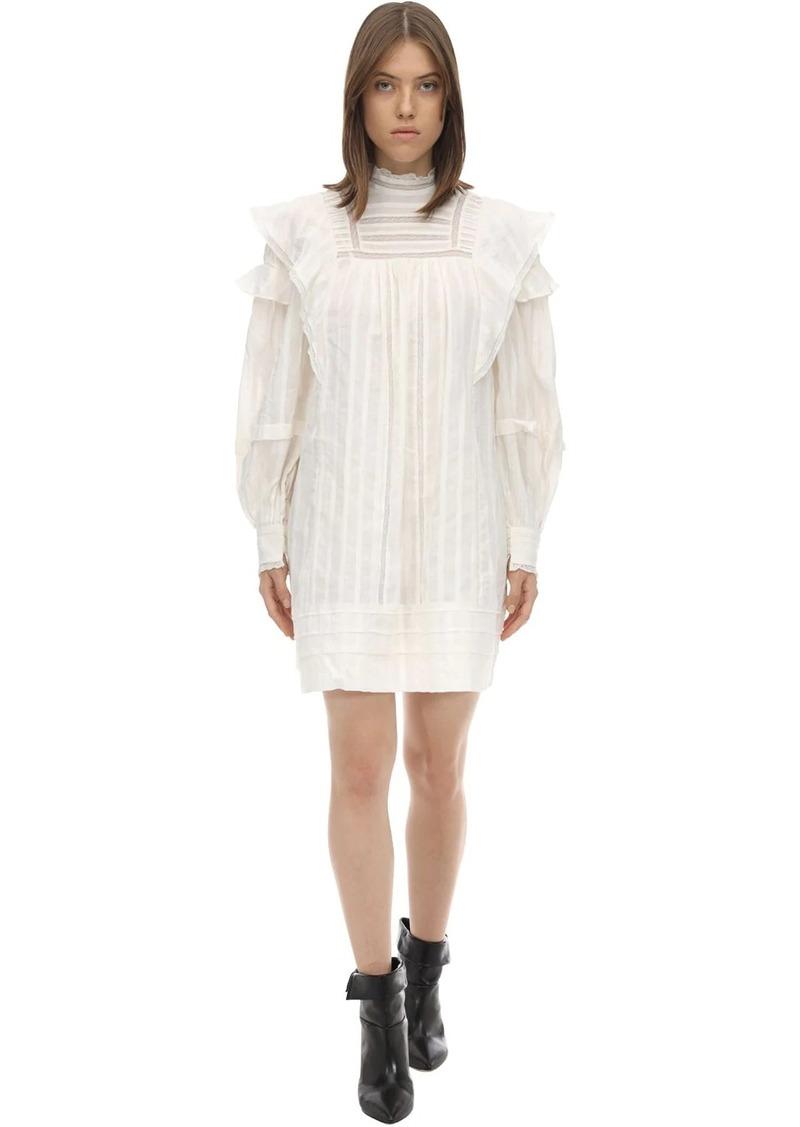 Isabel Marant Patsy Ruffled Cotton Dress