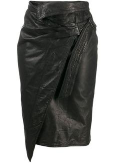 Isabel Marant pencil wrap skirt