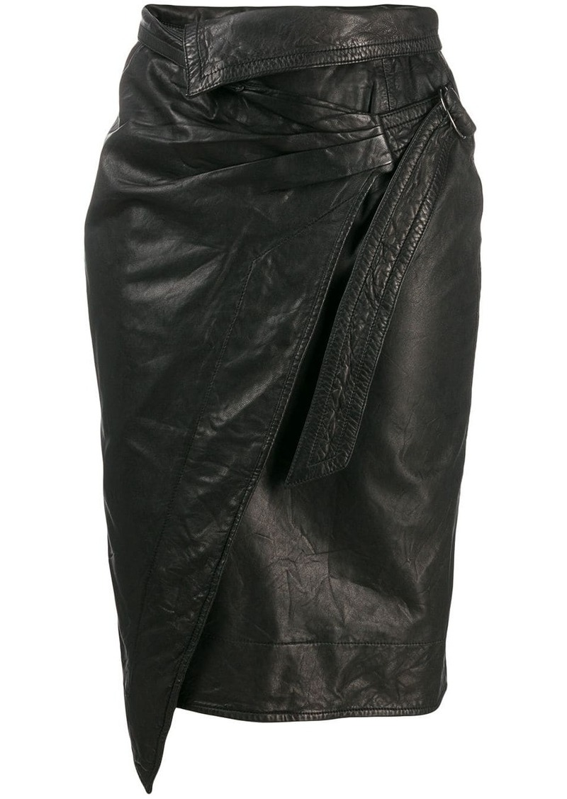 Isabel Marant pencil wrap skirt