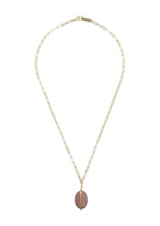 Isabel Marant pendant rectangle chain necklace