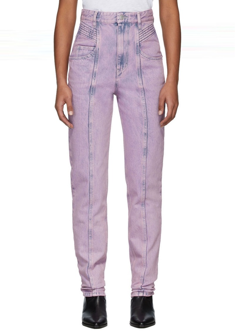 Isabel Marant Pink Henoya Jeans