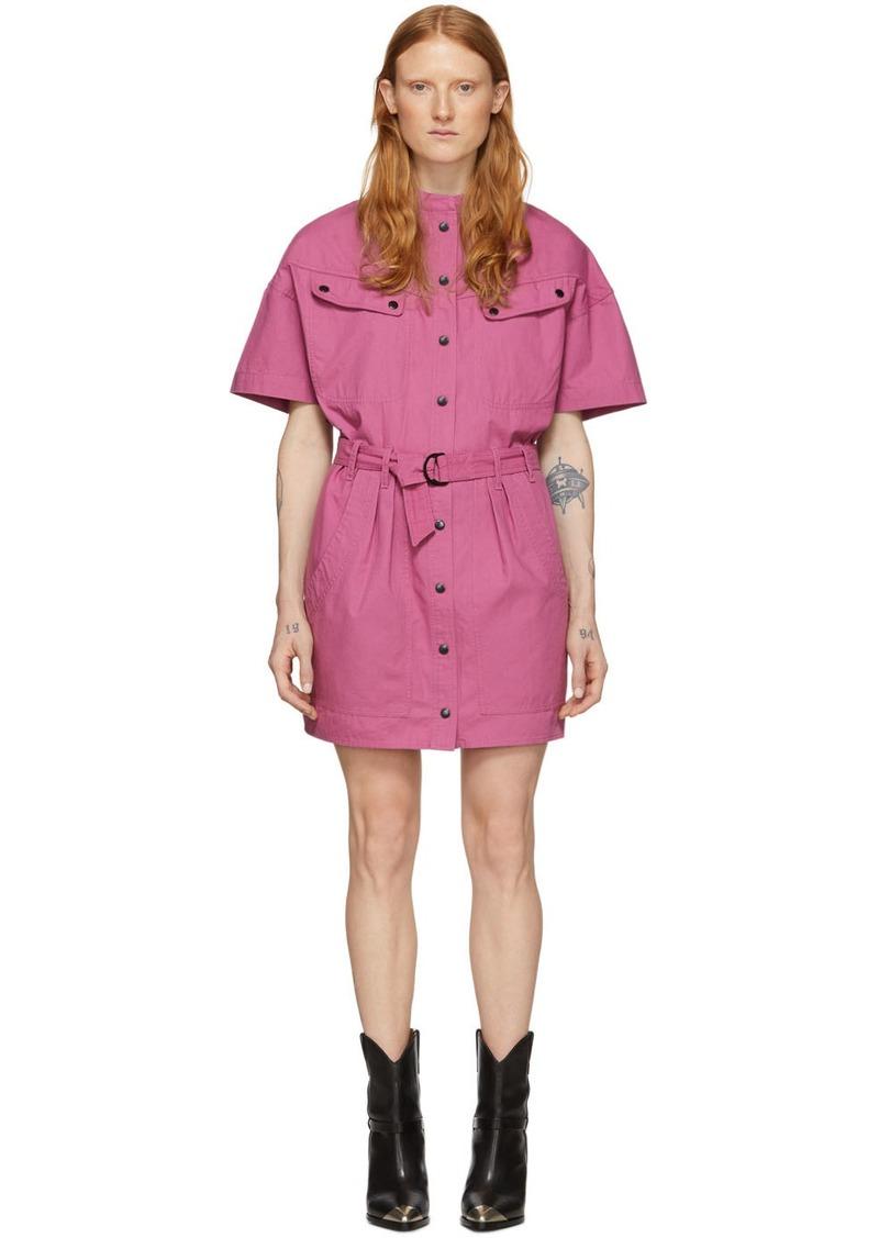 Isabel Marant Pink Zolina Dress
