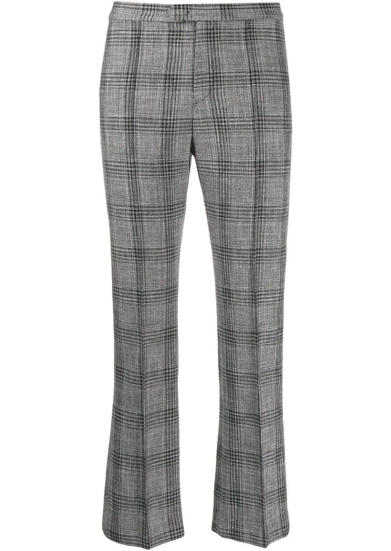 Isabel Marant plaid cropped trousers