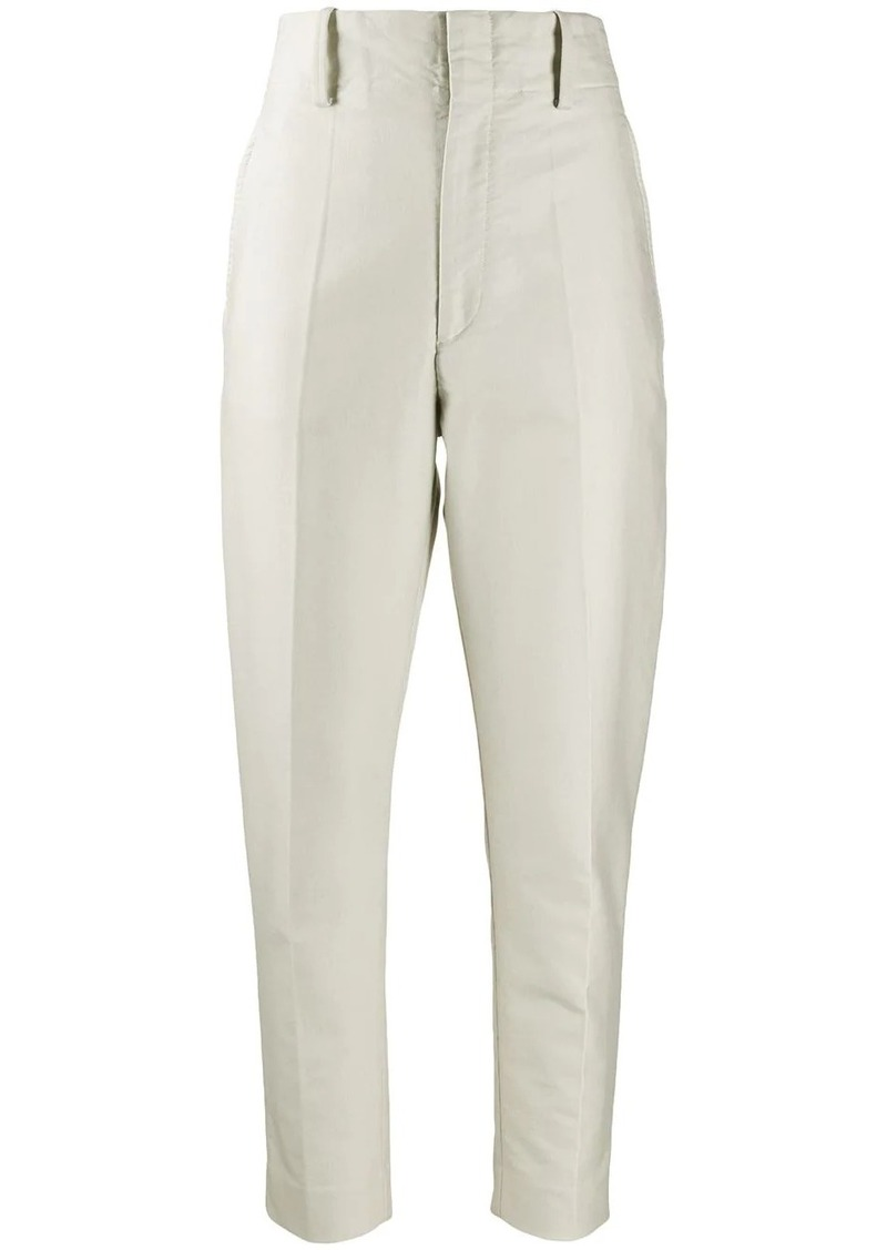Isabel Marant plain slim-fit trousers